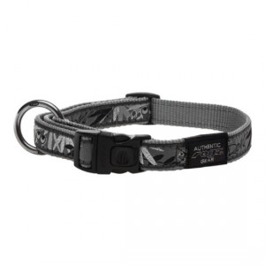 Collars-Side-Release-Cool-Graphics-HB-BS-Silver-Gecko