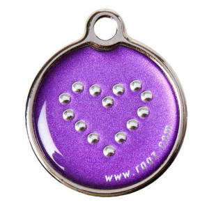 ID-Tag-Metal-IDM-BJ-Purple-Chrome-Front