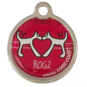 ID-Tag-Metal-IDM-BT-Red-Heart-Front
