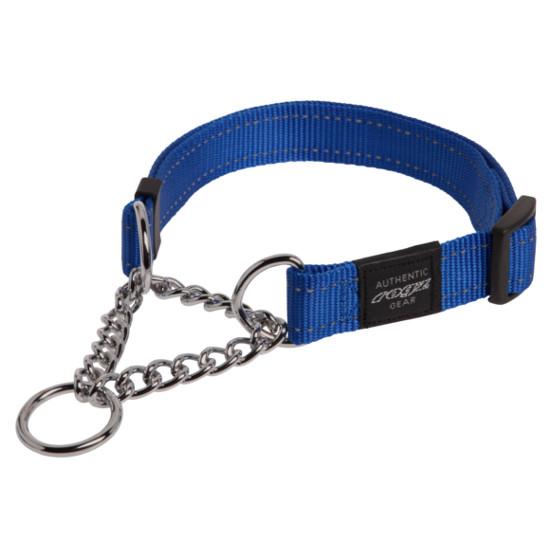 Obedience-Half-Check-Reflective-Stitching-HC-B-Blue
