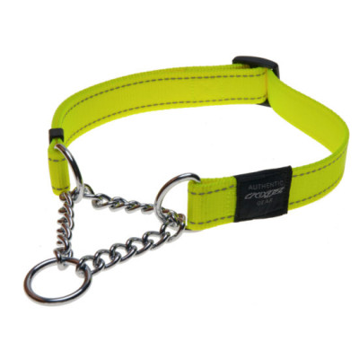 Obedience-Half-Check-Reflective-Stitching-HC-H-DayGlo