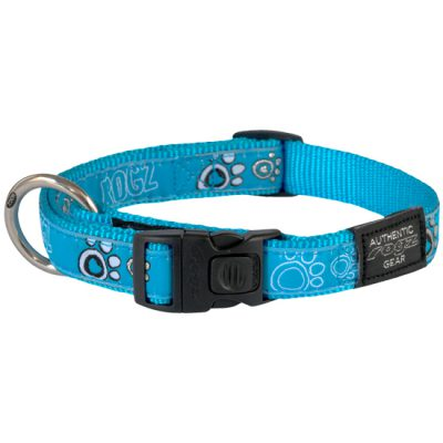 Side-Release-Collar-Cool-Graphics-HB-CG-TurquoisePaw