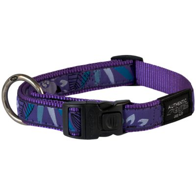 Side-Release-Collar-Cool-Graphics-HB-CH-Puple Forest