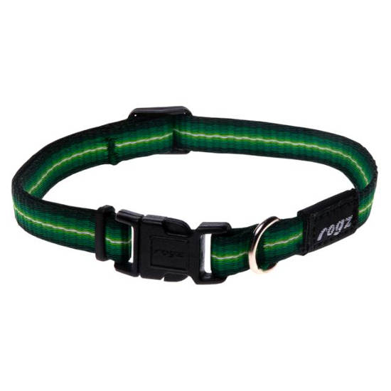 Side-Release-Collar-Small-Soft-Webbing-HB10-A-Midget-Green