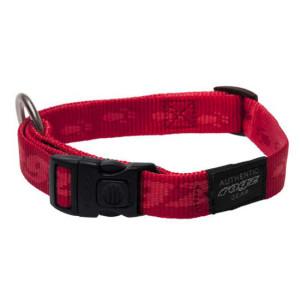 Side-Release-Collar-Soft-Webbing-HB-C-K2-Red