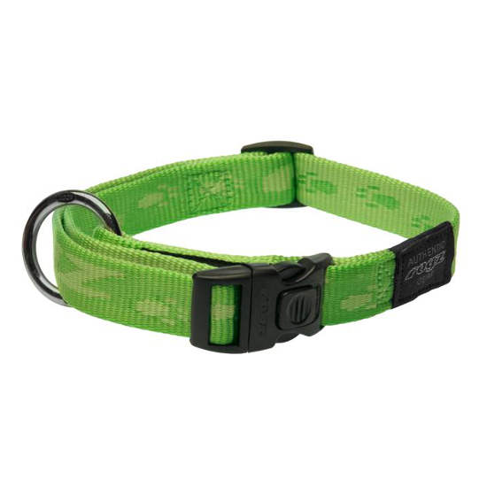 Side-Release-Collar-Soft-Webbing-HB-G-K2-Green
