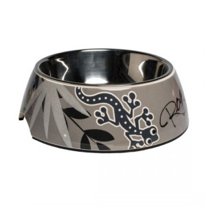 Dogs-Bowls-Bubble-Bowl-BS-Silver-Gecko