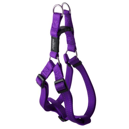 Stepin-Harness-Reflective-Stitching-SSJ-E-Purple