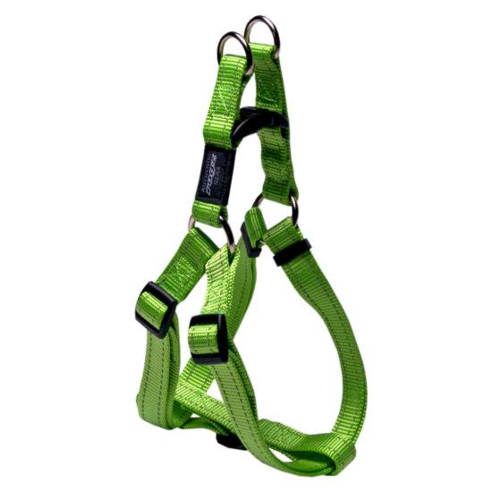 Stepin-Harness-Reflective-Stitching-SSJ-L-Lime