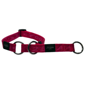 Collars-Web-Half-Check-Soft-Webbing-HBC-K-Pink